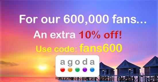 ホテル予約のアゴダ(Agoda)、Facebook