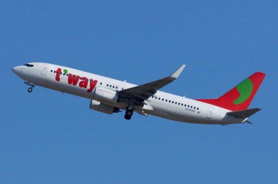 韓国のLCCティーウェイ航空、関空に2路線・ソウルと大邱に新規就航