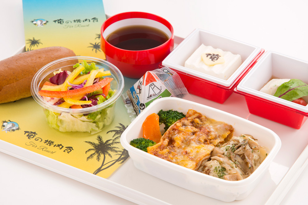 JALハワイ線の限定機内食 「俺の機内食 for Resort」