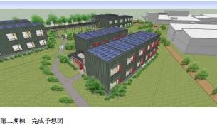 第2期棟は鹿島建設が担当。木材利用の環境共生ホテルに