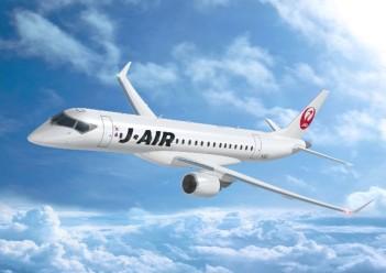 JAL、MRJ32機購入で正式契約、ジェイ・エアが地方路線で運航