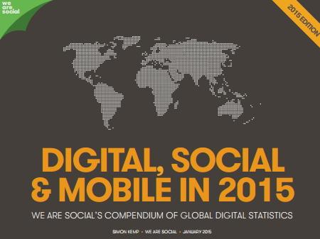 全世界のSNS総人口は21億人、モバイル利用は東アジアが5.6億人でトップ ―英・ウィーアーソーシャル社調べ