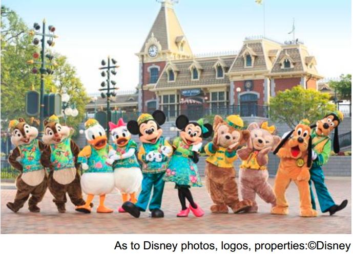 香港ディズニーで新たな春イベント、旧正月は正月衣装のキャラクター、3月から「アナ雪」も