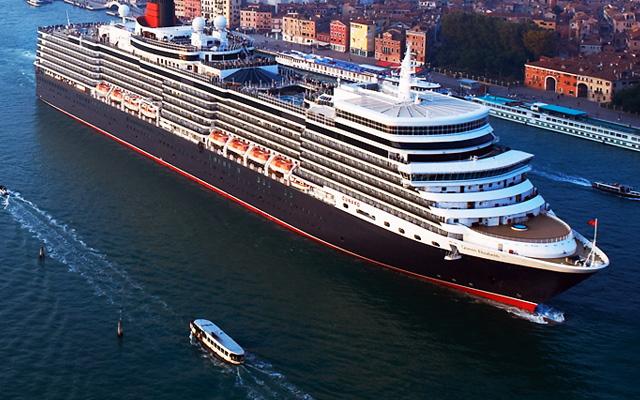 豪華客船クィーン・エリザベスの5周年記念イベント、ジャズバンドと洋上パーティなど ―キュナード・ライン