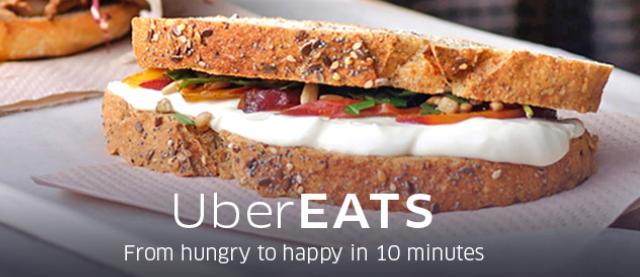 ウーバー(Uber)、スペインで食事宅配サービス開始、レストランの料理をタクシー運転手がデリバリー