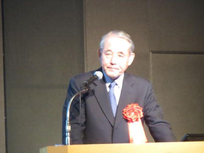 JATA経営フォーラム2015に登壇した経済同友会代表幹事の長谷川閑史氏