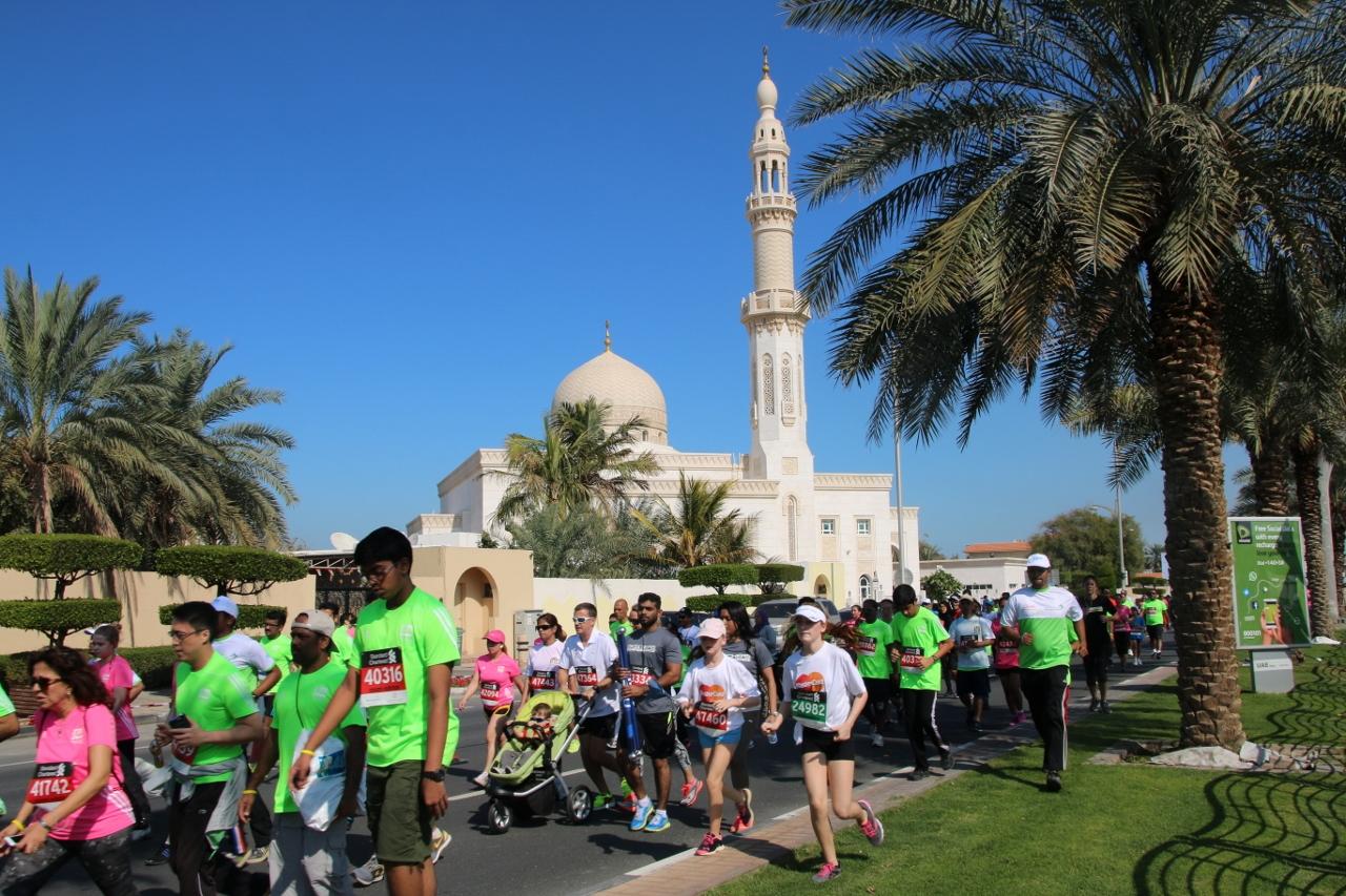 折り返し地点のモスク
