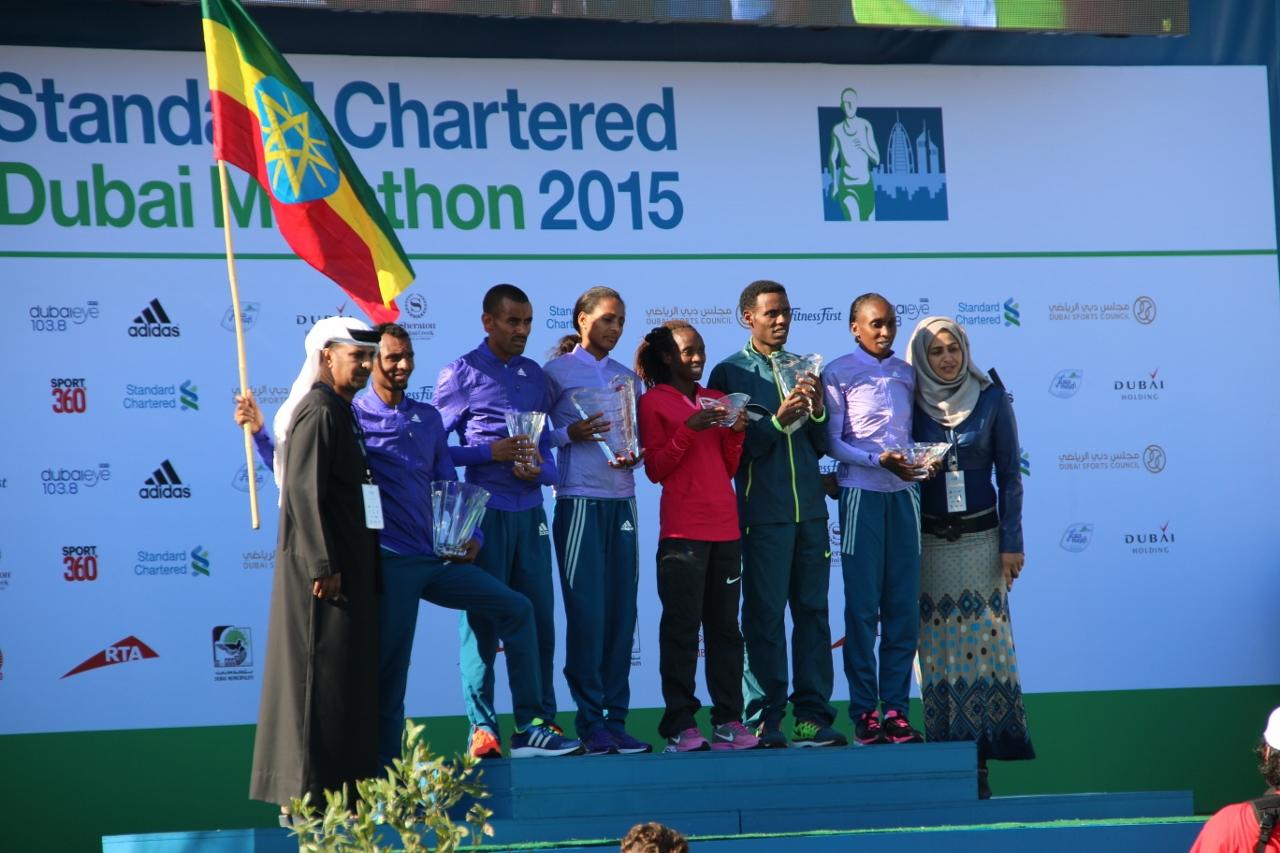 マラソンは男女ともエチオピアの選手が優勝
