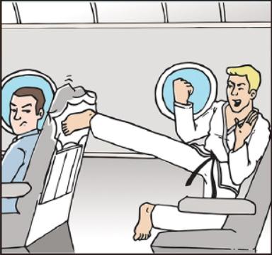 飛行機の機内で一番迷惑なのは「後ろからシートを蹴る」55%、日本人の7割が「外国人に苦情を言えない」 ―エクスペディア調べ