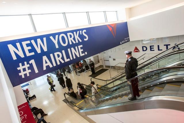 最新アプリで航空手荷物も追跡、デルタ航空でニューヨーク空港の最新ターミナルに飛んでみた