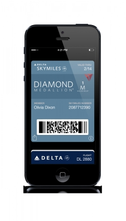 デルタ航空、マイレージプログラムを改良、スマホアプリからの特典航空券予約も可能に