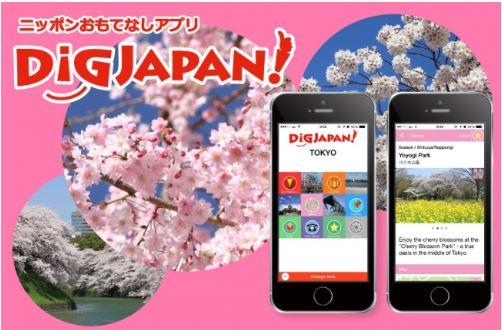 昭文社、訪日外国人向け無料観光アプリで花見スポットを紹介、開花状況や地図上で方角表示も