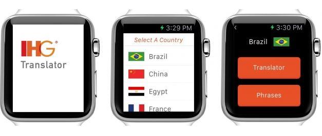 13か国語対応の無料翻訳アプリ「IHG Translator」がアップルウォッチ対応 -インターコンチネンタル・ホテルズ
