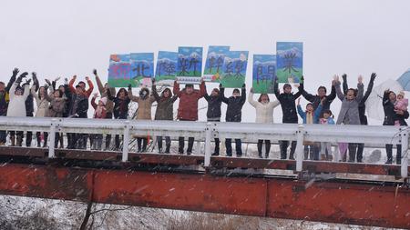 富山県が北陸新幹線開業でPR動画を公開、15市町村・県民3000名の参加で【動画】