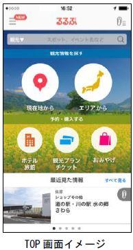 旅行アプリ「るるぶ」で、宿泊予約やレジャーチケット購入を追加、ナビ機能など追加リニューアル