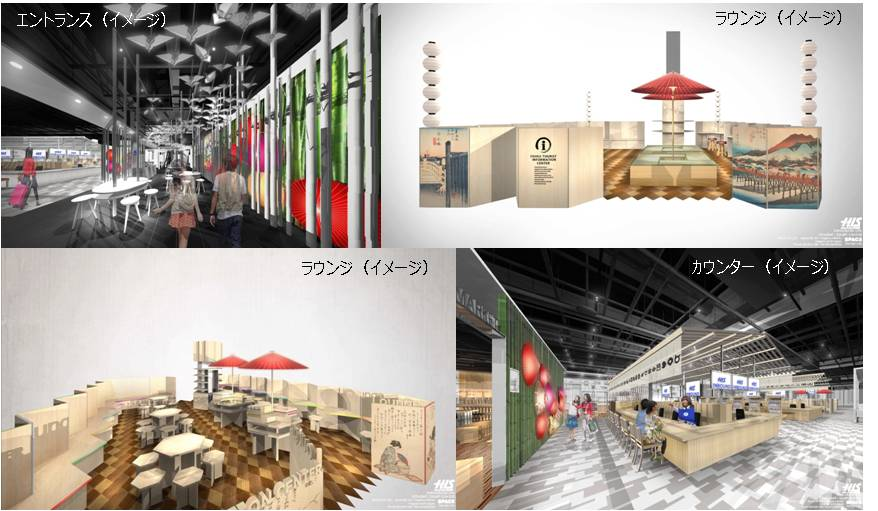 H.I.S、大阪に外国人旅行者専用ショップ開設、ドラッグストアなど他業種8店舗と連携