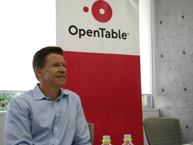 飲食店予約の世界大手「オープンテーブル」、CEOが明かす日本戦略と「旅行」との連携