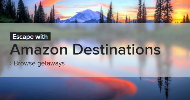 米アマゾン、いよいよ旅行予約サービスを開始、米国近隣での短期宿泊向けで