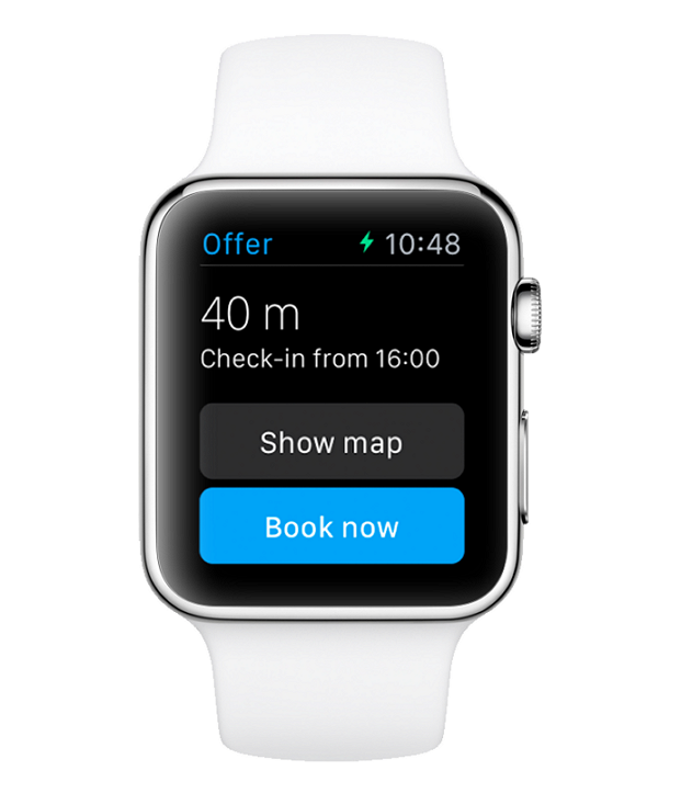 アップルウォッチで宿泊予約が可能に、ブッキングドットコムが搭載機能の計画を発表