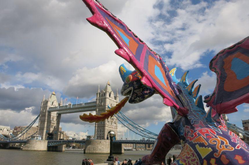 ロンドンのアイコンのひとつタワー・ブリッジ(イメージ)