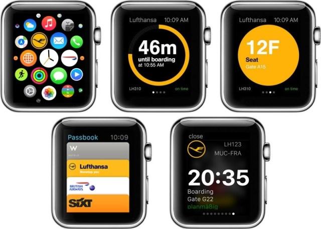 ルフトハンザ航空、アップルウォッチ用のアプリ提供、モバイル搭乗券の利用率は50%超