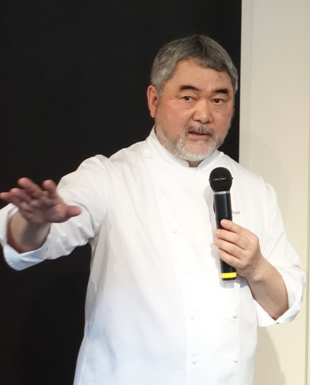 「オテル・ドゥ・ミクニ」オーナーシェフ、三國清三氏