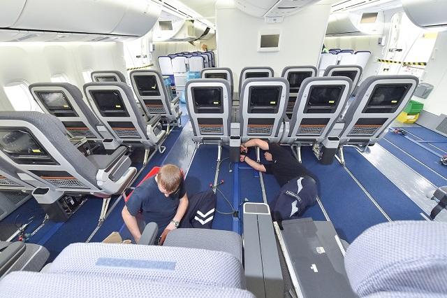 ルフトハンザ航空、長距離路線の約半数に新プレミアムエコノミー導入完了
