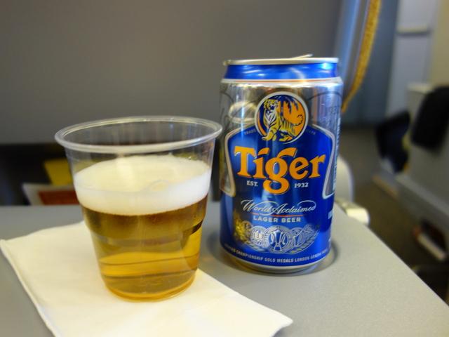 機内で飲めるビールの銘柄は航空会社によって様々