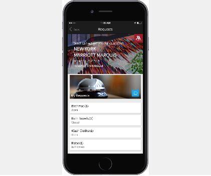 マリオットホテル、アプリに宿泊リクエストを伝える機能を追加、チャットでスタッフとのコミュニケーションも