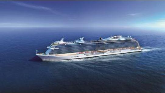 プリンセス・クルーズ、新造船を初の中国人向け客船に、2017年夏から通年運航