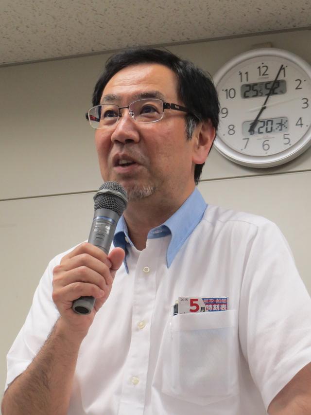 沖縄ツーリスト会長の東良和氏:異色の経歴でも知られる
