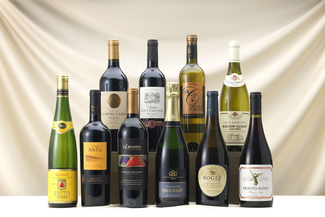 2015年 ANAのビジネスクラスのワインセレクション