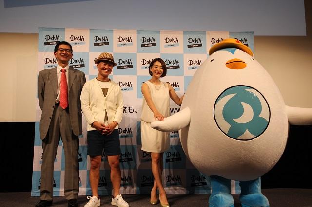 社名変更の6月1日には感謝祭イベントを開催。ゲストに眞鍋かおりさん、公式キャラクターを初披露。