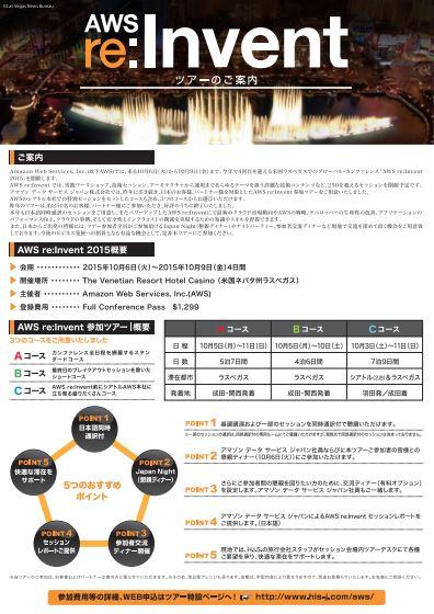 HIS、米Amazonカンファレンスで日本発ツアーを販売、ラスベガス6日間34.14万円~