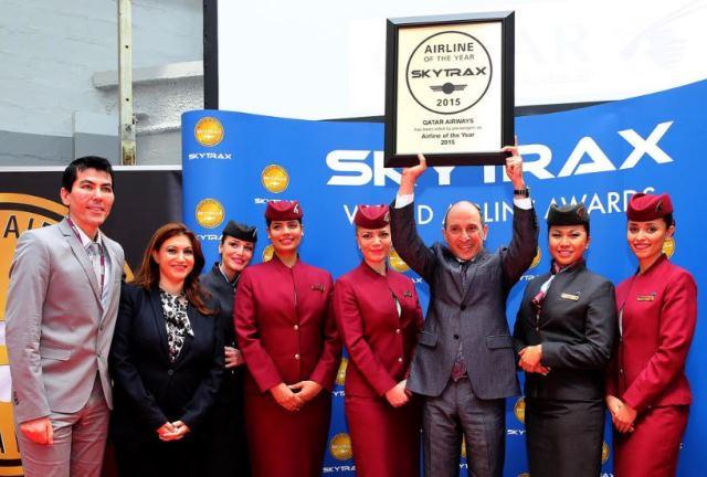 格付け会社による航空会社ランキング2015、世界1位はカタール航空、日系ではANAが最高の7位に