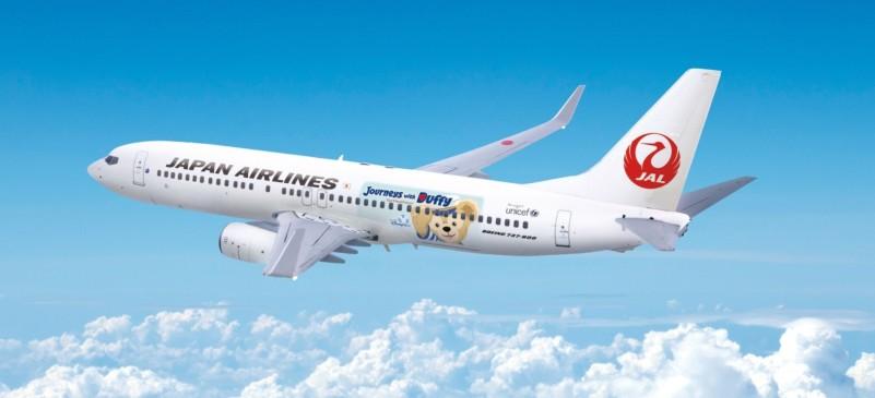 JAL、東京ディズニーとダッフィー特別塗装機を国内線に就航、7月14日から
