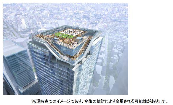 渋谷駅に国内最大級の屋外展望台、2019年度に新観光拠点オープンへ ―東急など3社