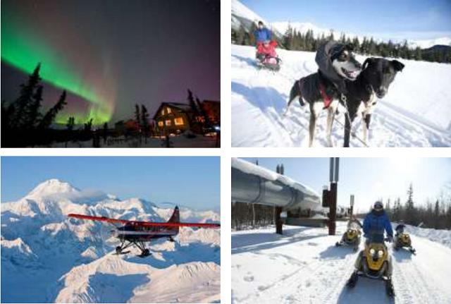 JAL、今年もアラスカ行きチャーター運航へ、冬季のオーロラ観測旅行にあわせて