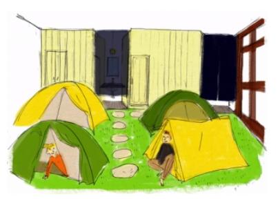東京のホテル不足に一石、屋内キャンプ型の宿泊施設を新設へ、実現に向けてクラウド資金調達スタート
