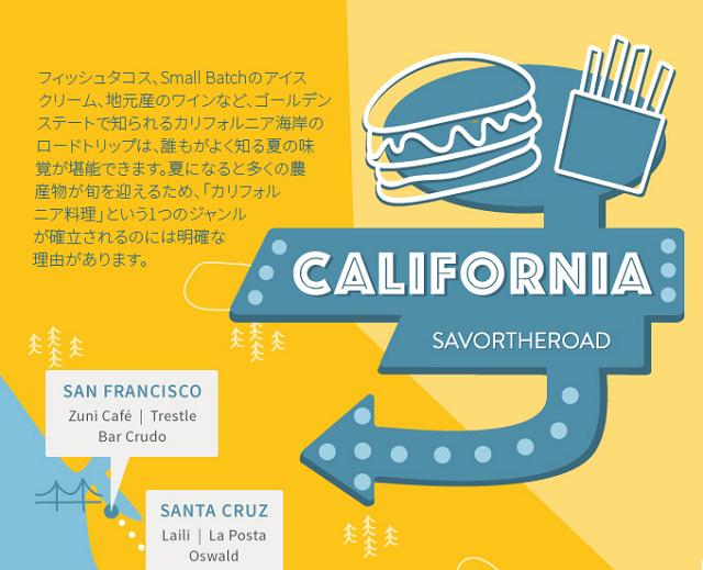 ドライブ旅行に最適な「全米レストラン2015」発表、飲食店予約「オープンテーブル」が選定