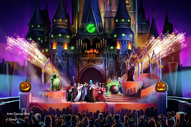 米ディズニー、カリフォルニアとフロリダでハロウィーンイベント開催