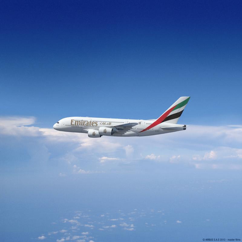 エミレーツ航空、A380を関西路線に投入、2018年秋から毎日運航で