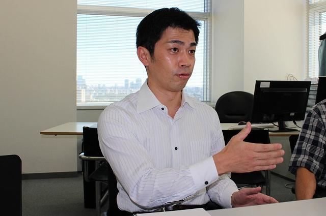 代表取締役副社長の小木尊人氏