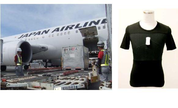 航空会社の安全管理でIoT活用の実証実験、炎天下の暑さ対策からスタート -JAL