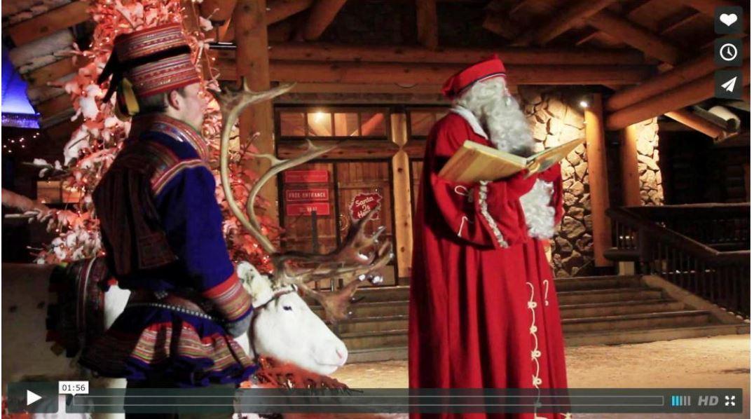 サンタクロース村の財政危機問題で動画メッセージ公開 -ビジット・フィンランド