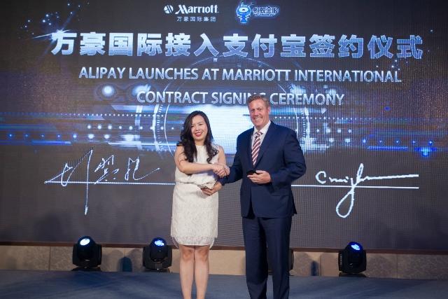 マリオット、中国最大の決済アプリAlipayと提携、2016年中にアジア主要市場に導入