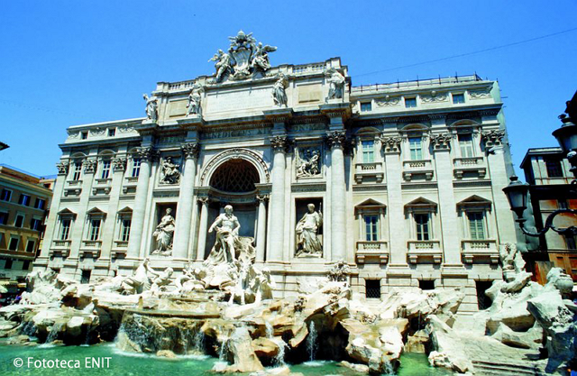 イタリア・ローマのトレビの泉、修復完了で11月3日から再公開