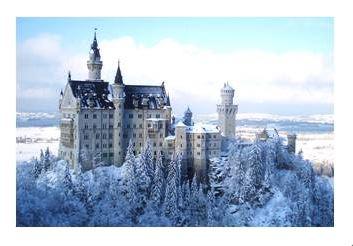 この冬に行きたい世界の絶景ランキング、1位は雪化粧の独ノイシュバンシュタイン城 -HIS調査
