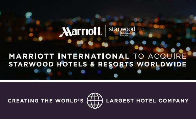米マリオットのスターウッド買収、ホテル別売上ランキングでみる世界最大規模と統合メリット