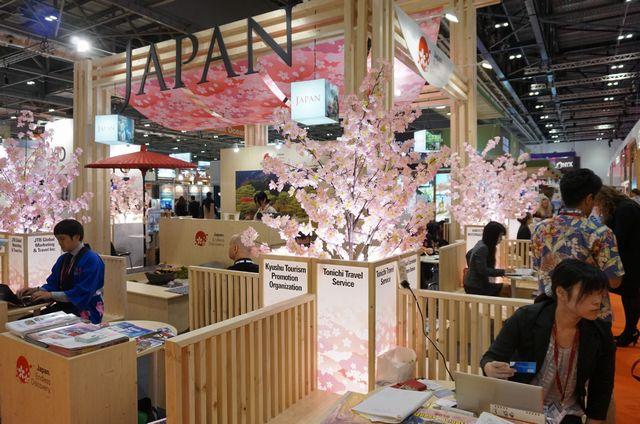 日本政府観光局が「最優秀賞」を受賞、英ロンドンで開催中の「WTM London 2015」出展ブース品評で